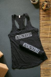 strong chicks rule tank black